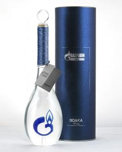 Макет с логотипом Газпрома | Prowine