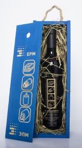 Деревянный пенал с покраской и лазерной гравировкой. Графин в аутентичном ложементе. | Prowine