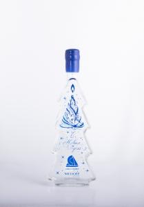Дизайнерский графин с глубокой пескоструйной гравировкой и покраской | Prowine