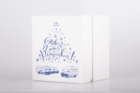 Картонная кашированная коробка с полноцветной печатью | Prowine