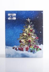 Новогодний подарочный футляр с полноцветной печатью | Prowine