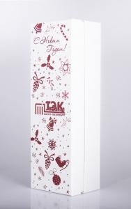 Подарочная упаковка. Кашированный футляр с полноцветной печатью. | Prowine