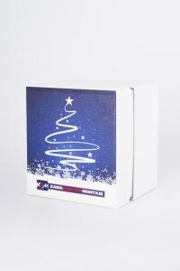 Подарочная упаковка в новогоднем стиле | Prowine