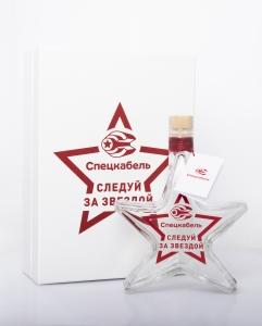 Подарочный набор. Графин в форме звезды с персонализацией. | Prowine