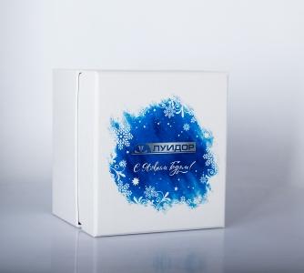 Кашированная картонная коробка с полноцветной печатью | Prowine