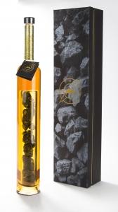 Продарочный набор. Дизайнерский графин с образцами угля в изолированной капсуле. | Prowine