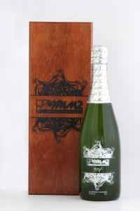 Сувенирный набор с персонализацией на графине в деревянном футляре с гравировкой | Prowine