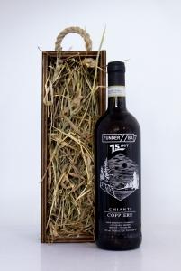 Винная бутылка с персонализацией в деревянном пенале | Prowine